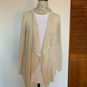 Creamy color cozy cardigan